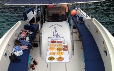 Alquiler barco con patrón  en la Costa Brava