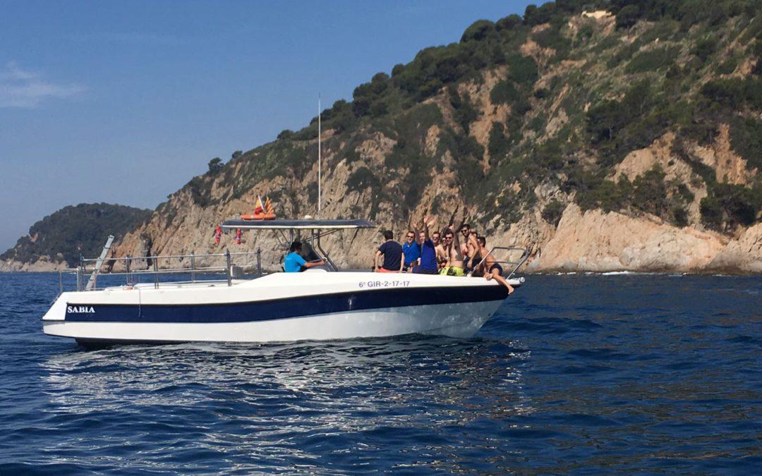 Lloguer de vaixell a la Costa Brava. Pirates