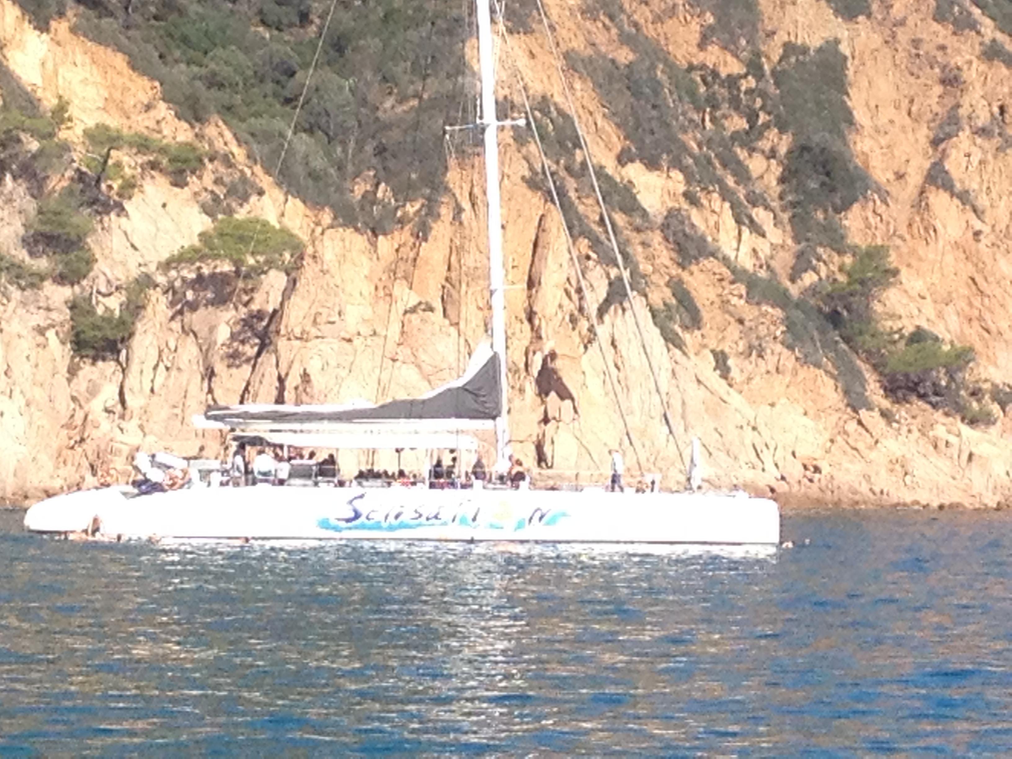 Catamaran Costa Brava, Blanes, Lloret, Tossa